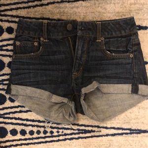 American Eagle denim shorts.
